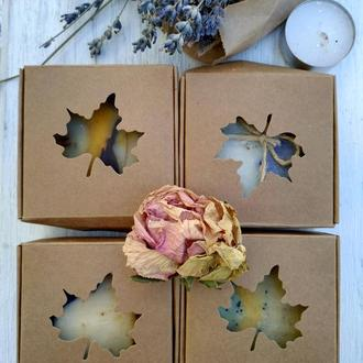 Мило на подарунок у шабатурці/Мыло в подарочной коробке