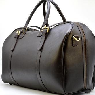 Дорожная коричневая кожаная сумка TB-1133-4lx бренда TARWA, универсальная