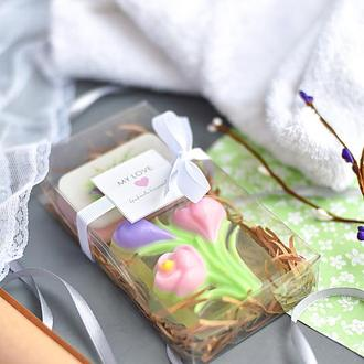 Подарочный набор мыла  Love in Spring Нежные крокусы
