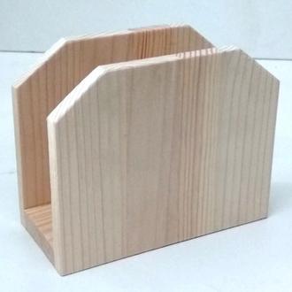 Серветниці з деревини для декорування