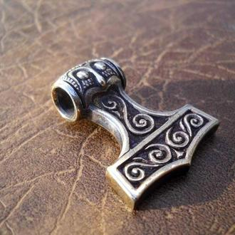 Кулон «МОЛОТ ТОРА»  (бронза)