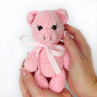 Плюшевая свинка