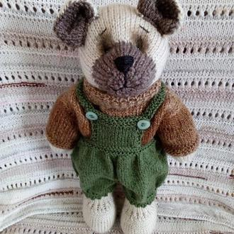 "Вязаная игрушка мишка ""Тедди"""