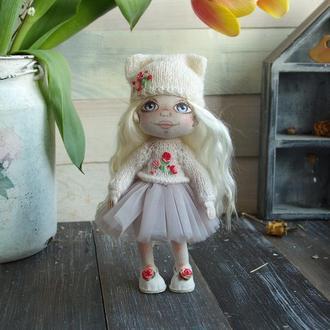 текстильная кукла Василиса