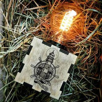 Лампа Ночник «Маяк, Штурвал»