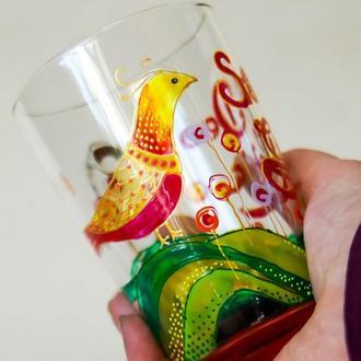 Soli Deo Gloria / Роспись чашек с рисунком и надписью из Библии