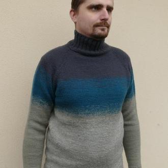 Чоловічий светр реглан