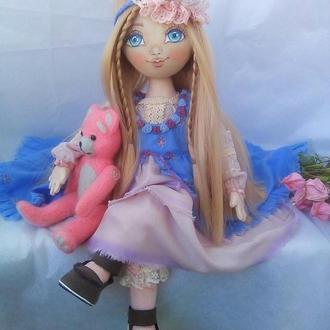 """Текстильная кукла в стиле """"Бохо"""""""