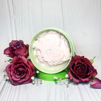 Крем-суфле для догляду за тілом та руками «Троянда».