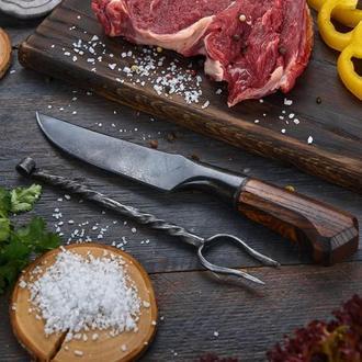 Кований вручну козацкий захалявний ніж