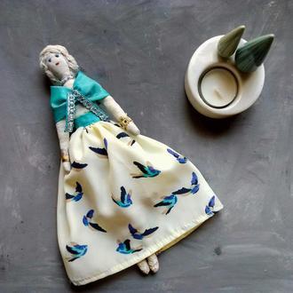 """Кукла """"Диана"""" в стиле тильда, текстильная, интерьерная"""