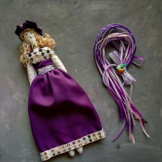 """Кукла """"Ольга"""" в стиле тильда, текстильная, интерьерная"""