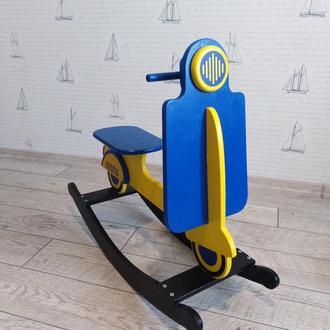 Дитячий мотороллер-качалка, дитячий транспорт,іграшки