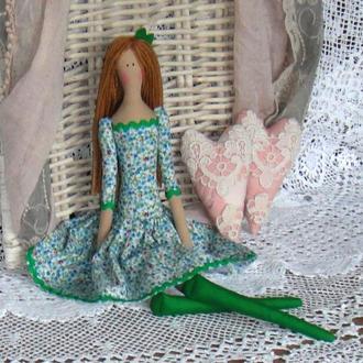 Кукла в стиле Тильда Лидия 48см