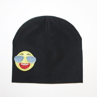 """Детская шапка с вышивкой """"Smile"""""""