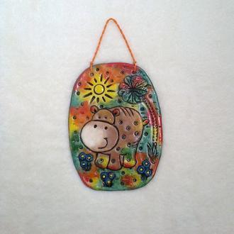 Бегемотик ТоТо - декор для детской