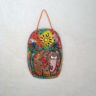 Слон Батон - декор для детской