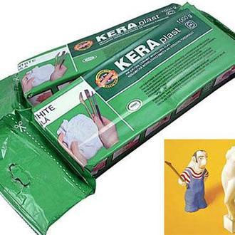 Самозатвердевающая масса KOH-I-NOOR Keraplast 1кг. терракотовый 131707