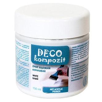 Грунт акриловый Deco Kompozit 150 мл Белый 744622