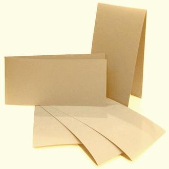 Набор заготовок для открыток 5шт 10,5х21см №1 бежевый 220г/м Margo 94099020