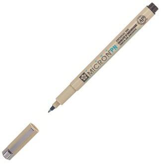 Ручка капиллярная PIGMA Micron PN (линия 0.4-0.5мм) Sakura XSDKPN***_черный