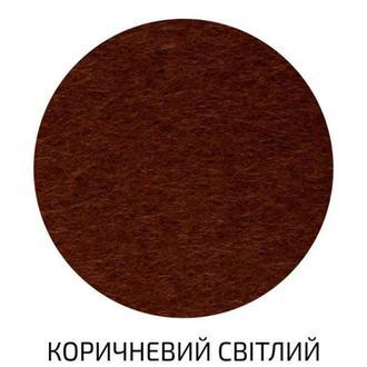 Фетр поделочный (полиэстер) 180г/м2 29,7*42см Rosa Talent A3-H0**_коричневый светлый