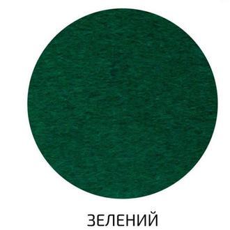 Фетр поделочный (полиэстер) 180г/м2 29,7*42см Rosa Talent A3-H0**_зеленый