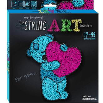 Набор для творчества DankoToys DT STRA-01-05 плетение нитками The String Art