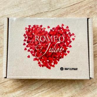 """Набор натурального мыла """"Ромео и Джульетта"""""""