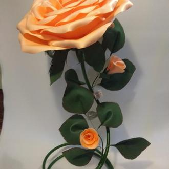 Торшер чайная роза
