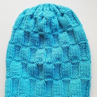 Женская весенняя шапка