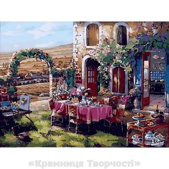 Картина по номерам 40х50 Жизнь в Провансе (КНО2245)