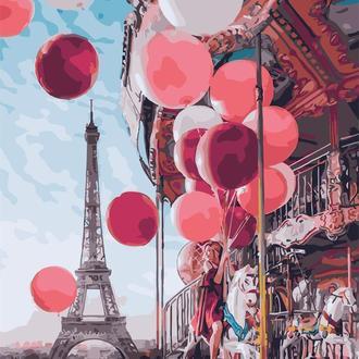 Картина по номерам 40х50 Парижская карусель (GX24914)