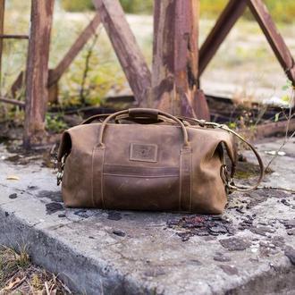Дорожная сумка Sport & Travel. Спортивная кожаная сумка