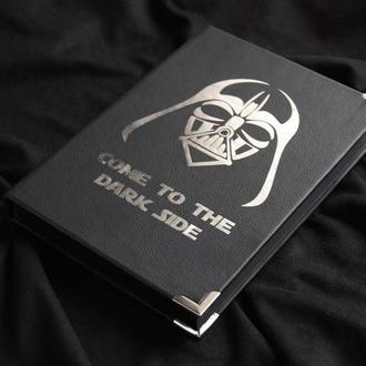 Блокнот «Dark side» с Дартом Вейдером (Звездные войны)