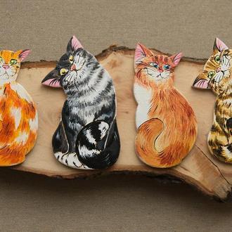 """магнит из серии """"Счастливые коты"""""""