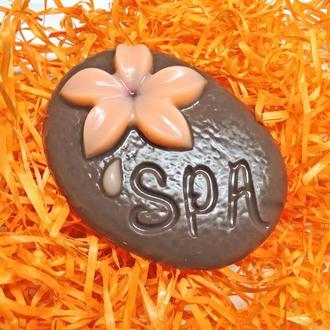 "Мыло ""Spa"" коричневое"