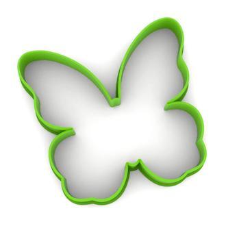 6216 Вырубка для пряников Бабочка 2