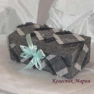 Подарочная коробочка Джинс