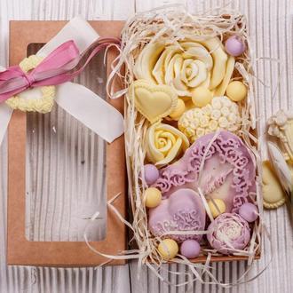 Коробка цветов от Мир Мыла