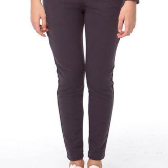 Темно-серые брюки (костюм с воланами), размер M
