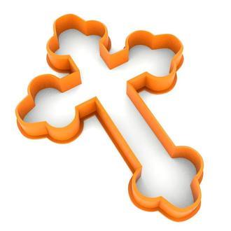 6193 Вырубка для пряников Крест-1