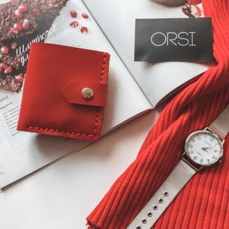Гаманець ORSI mini червоний