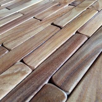 3д панели с дерева, 3д плитка, мозаика из дерева