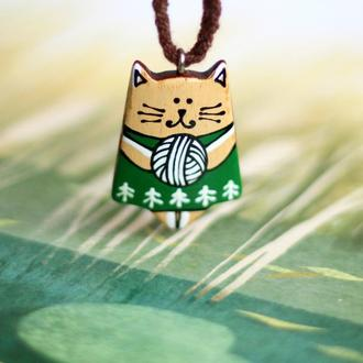 Кулон котик