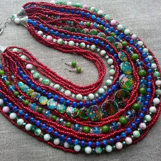 """Ожерелье """"Лето"""""""