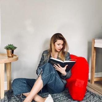 Подушка для чтения и отдыха размер L