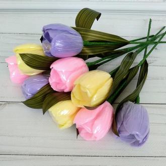 Сувенирное мыло тюльпаны