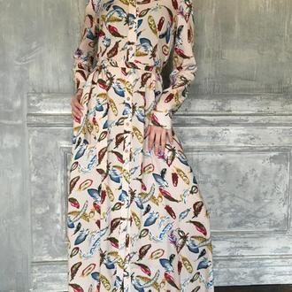 """Платье """"Перья"""""""