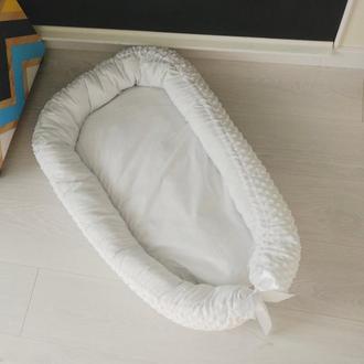 Гнездышко для новорожденного (кокон, бебинест) Snow White